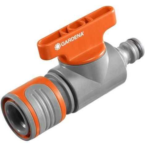 Gardena 2977-20 Conector regulador Para la regulacion o cierre caudal agua un final manguera y una derivacion en Y