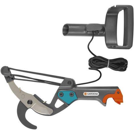 Gardena 298-20 Tijera de pertiga Sistema fijacion Easy Clip Mango ergonomico y ajustable Diametro corte 35mm