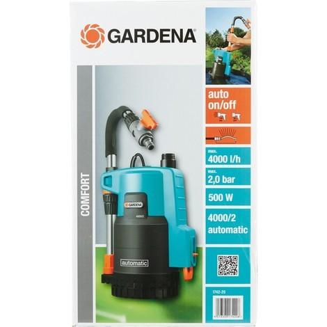 Gardena 4000/2 automatic Pompe pour collecteur d'eau de pluie