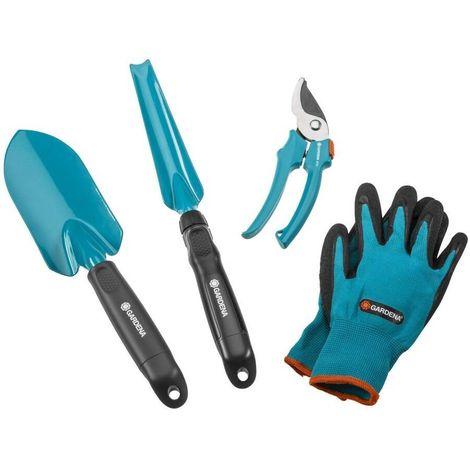 Gardena 8965-30 Equipamiento Basico herramientas Para plantar y trasplantar cortar flores y hierbas