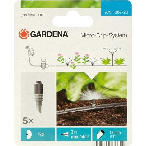 Gardena Arroseur 180 Degré, - 5 pièce