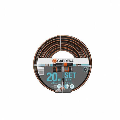 GARDENA Comfort Flex Flex garden hose with accessories - diameter 15mm - 20m 18044-26