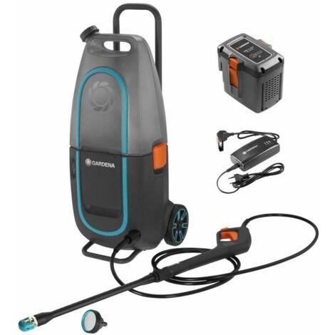 Gardena Ensemble nettoyeur haute pression AquaClean Li-40/60. avec batterie et chargeur