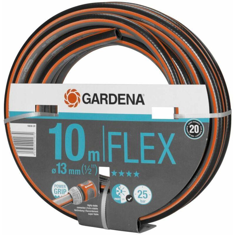 """FUXTEC Gartenschlauch ECO FLEX Wasserschlauch 1//2/"""" flexibler Schlauch 3lagig"""