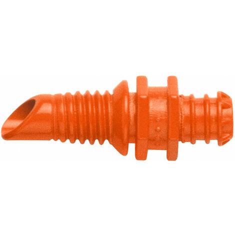 Gardena Goutteur de fin de ligne - Tête d'arrosage - Système d'irrigation goutte-à-goutte - Orange - Mâle - 76,2 / 16 mm (3 / 16) - 2 l/h (1340-20)