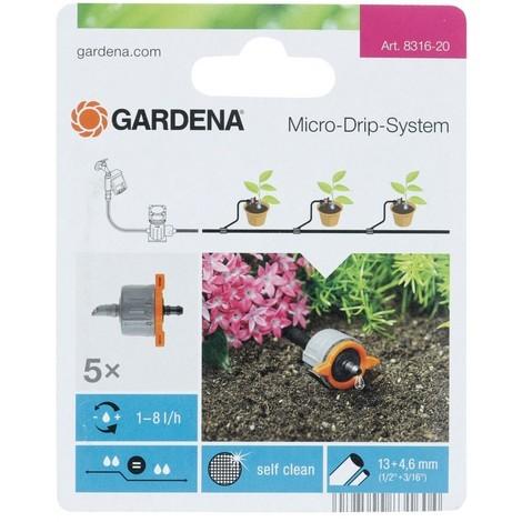 Gardena Goutteur Micro-Drip-System Gris/Orange 35 x 20 x 19 cm 08316-20