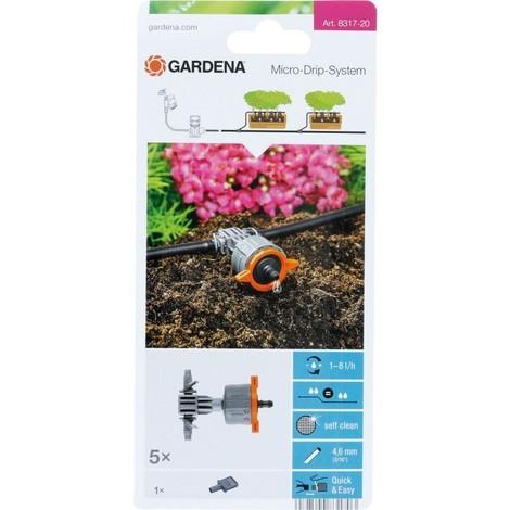 Gardena Goutteur Micro-Drip-System Gris/Orange 35 x 20 x 19 cm 08317-20