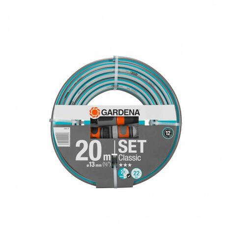 GARDENA hose set - connection accessories - Classic diameter 13mm - 20m 18004-20