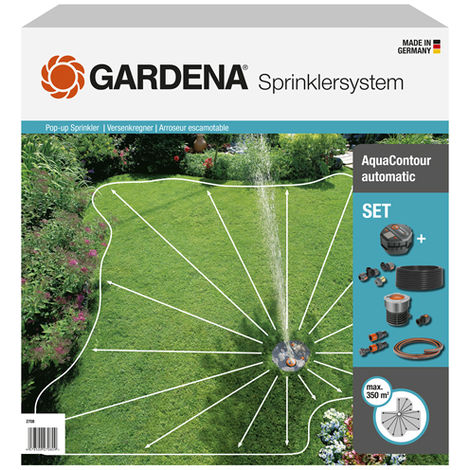 Gardena Kit arroseur escamotable AquaContour automatic - 02708-20