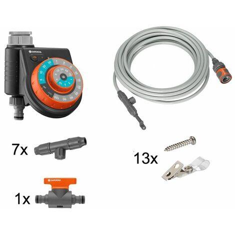 Gardena Kit brumisateur avec programmateur Easy Plus Action - 13137-34