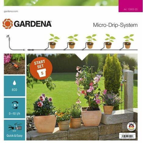 Gardena Kit d'arrosage goutte-à-goutte pour plantes en pots S - 13000-20