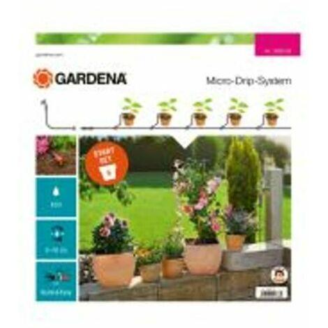 Gardena Kit d'arrosage goutte-à-goutte pour plantes en pots S - GARDENA 13000-32