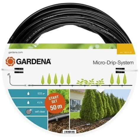 GARDENA Kit d'arrosage goutte-à-goutte pour rangées de plantes L (13013-20).
