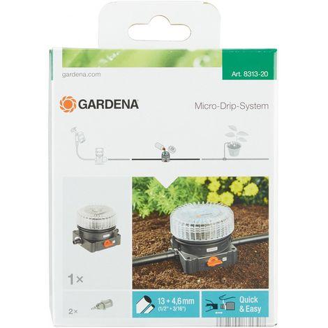 Gardena Máquina expendedora de abono Micro-Drip-System negro/Naranja/transparente 35 x 20 x 19 cm 08313-20
