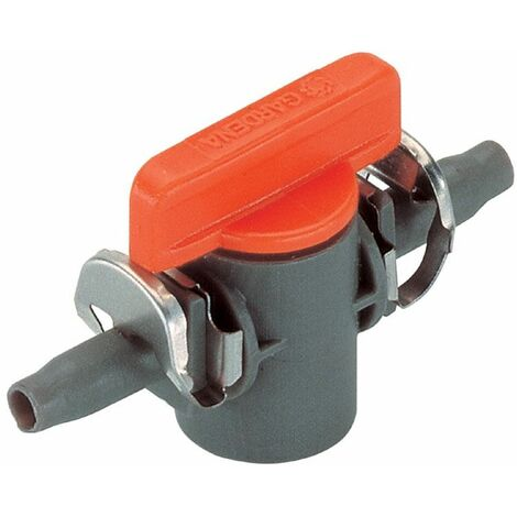 Gardena Micro-Drip-System Robinet d'arrêt 4,6 mm (3/16 Zoll) - 08357-20