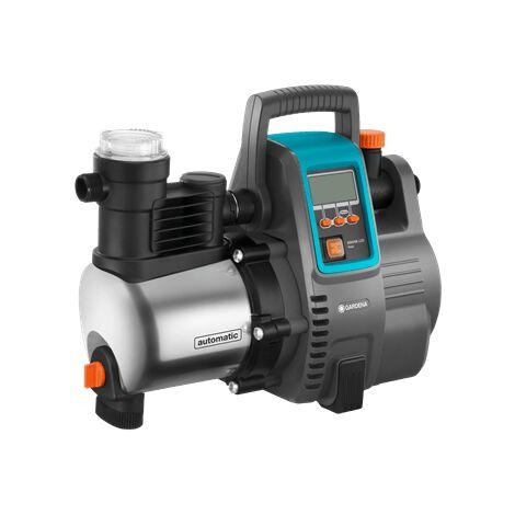 Gardena - Pompe automatique 1300W 6000 L/h aspiration d'amorçage max. 8 m - 6000/6E LCD