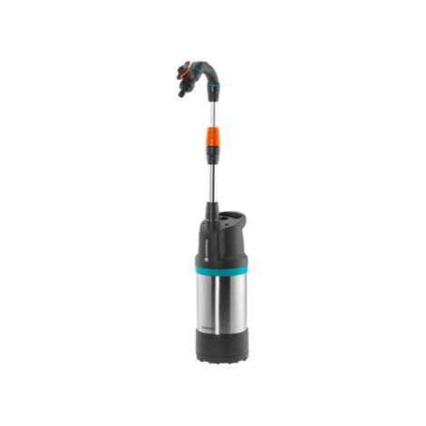 GARDENA Pompe pour collecteur d'eau de pluie 4700/2 inox automatique (1766-20).