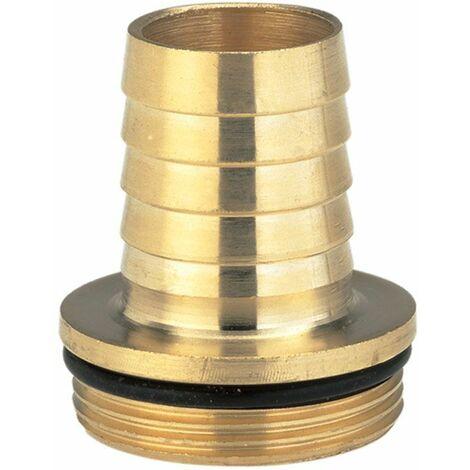 """Gardena Raccord à vis en laiton, avec collet et joint torique - 47,9 mm (G 1 1/2) / tuyaux de 32 mm (1 1/4\"""") - 07149-20"""