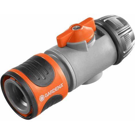 15 mm 18253 Wasserhahn Verbinder Gardena Premium Wasserstop 1//2/'/'-5//8/'/' 13 mm