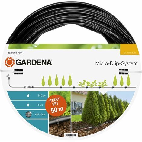 Gardena Sistema de micro-goteo arriates M Starter Set 25 m 13011-20