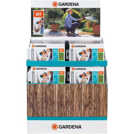 Gardena Spiralschlauch-Set 10 mtr kpl.m.Impulsbr.+Systemt. 20St. (Inh. 20 Stück)