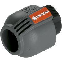 GARDENA Sprinklersystem Endstück, 25 mm, Quick & Easy