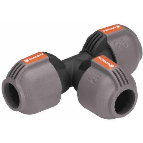 Gardena T-Stück Sprinkler-System Wasserweiche Quick & Easy 2771-20