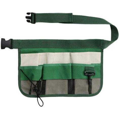 Gardening Tools Garden Belt Bags Hanging Waist Bag Pouch Garden Tool Belt Adjustable Tool Organizer Apron with Belt Men's / Women's Belt Cleaning Bag