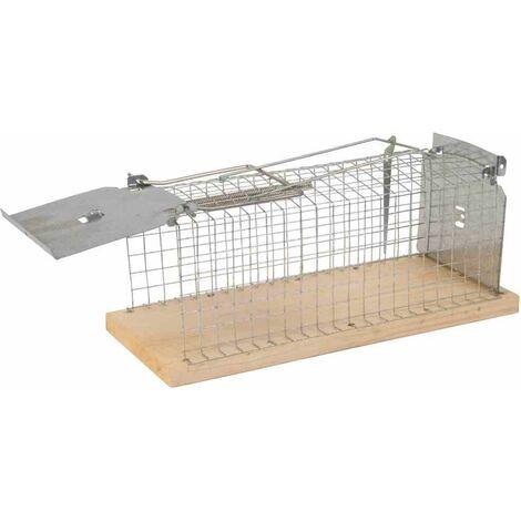 GARDIGO Jaula viva para ratas Gardigo con asa para facilitar el ajuste de la trampa.