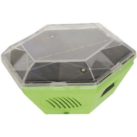 Gardigo Solar 360° Repousseur d'oiseaux Type de fonctions multiple fréquence, éclairage LED Champ d'action 150 m² 1 pc(s) S350381
