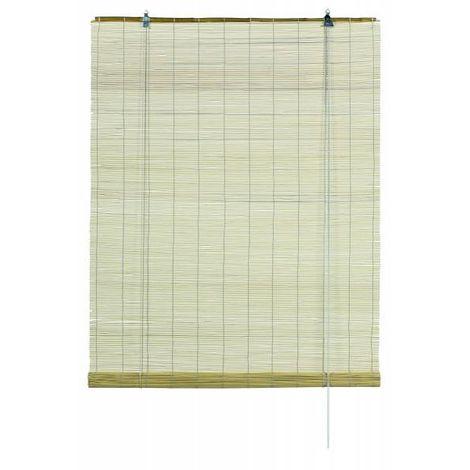 Gardinia Bambus Rollo, inkl Befestigungsmaterial, Decken- oder Wandmontage, mit Zugschnur
