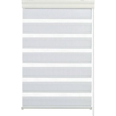 Gardinia Doppelrollo mit Kassette, verschiedene Farben und Größen, inkl Montagezubehör, Fenster