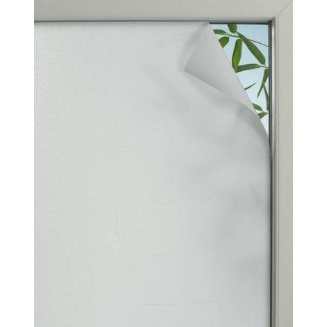 Gardinia Fensterfolie Textile 75, semitransparent, selbsthaftend, zuschneidbar, lichtdurchlässig