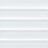 Gardinia Flächenvorhang Day + Night, 60x245 cm, Doppelrollo-Optik, transparent & blickdicht 2in1