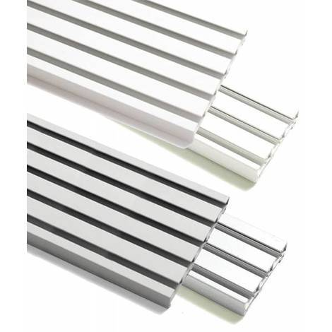 Beliebt Gardinia Flächenvorhangschiene Atlanta 3 | 5-läufig | Aluminium NQ05