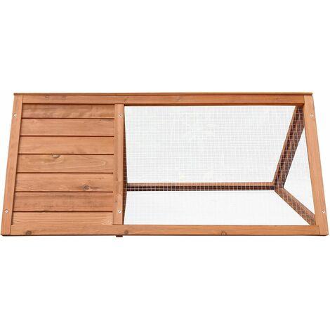 Gardiun Cage Clapier Pour Lapin Bunny 50 cm x 97 cm x 41 cm En Bois