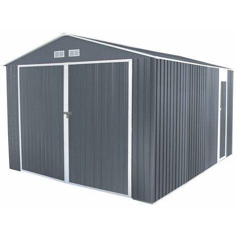 Gardiun Garage Métal Durham 15,36 M² Ext. - Kis12998