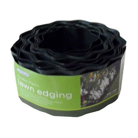 Gardman 09005 9cm x 910cm 9.1m Plastic Garden Lawn Path Border Edging Roll