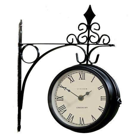 Gardman 17239 London Paddington Station Platform Indoor Outdoor Garden Clock