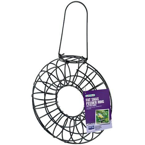 Gardman Fat Snax Wild Bird Hanging Feeder Ring Bird Food A01186
