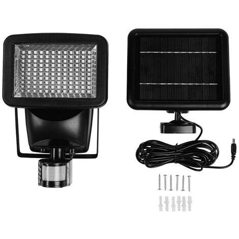 Gardman Solar PIR Security Wall Light LED Floodlight Motion Sensor Ultra Bright
