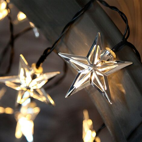 Garland 10 LED Star