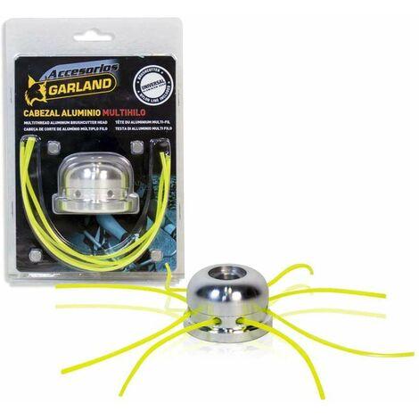 Garland Cabezal Desbrozadora Aluminio 6 Hilos Pro