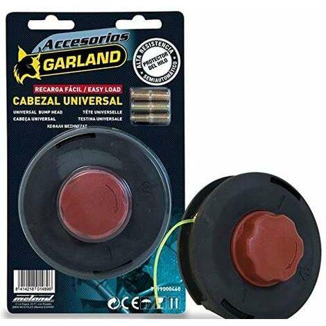 Garland Cabezal Desbrozadora Semiautomatico Universal Carga Facil