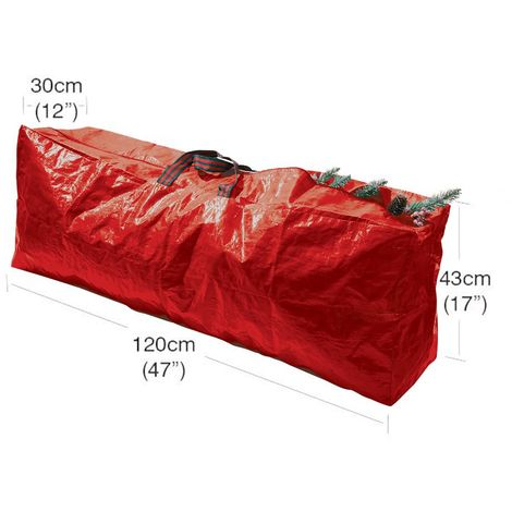 Garland Christmas Tree Storage Bag - Red - 120cm x 25cm