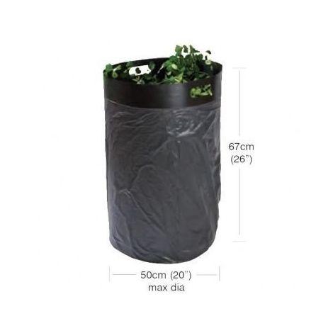 Garland Easy Fill Bag Loader Polypropylene Black Bin Support