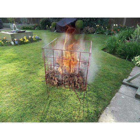 Garland Easy To Assemble Garden Incinerator Gardening Fire Bin