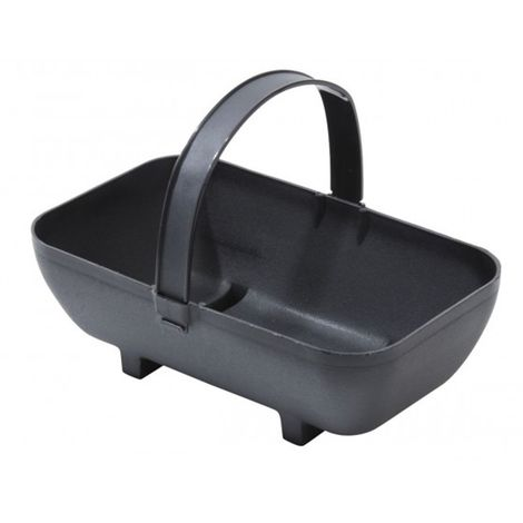 Garland Garden Small Trug Recycled Plastic Planter - Black