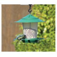 Garland Hanging Garden Lantern Bird Seed & Nut Feeder - Green