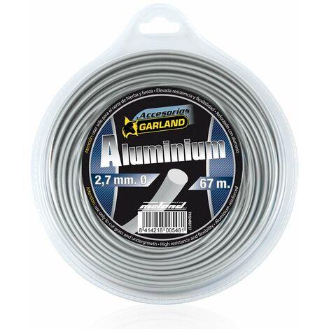 "main image of ""Garland Hilo Desbrozadora Aluminio Redondod 4,0 Mm X 30 M."""